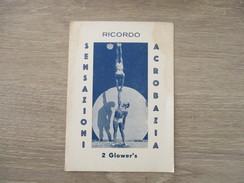 PUBLICITE RICORDO ACROBATES 2 GLOWER'S - Advertising