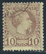 Monaco - 1885 - Charles III - N° 4  -  Oblitéré - Used - Monaco
