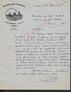 LETTRE COMMERCIALE ILLUSTRE DE 1934 SOCIETE DES COURSES D ECOMMOY : - Equitation