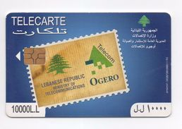 Ogero 2008 Used Phonecard  Lebanon , Liban  Libano - Lebanon