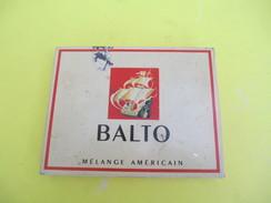 Boite Métallique Ancienne/Cigarettes/BALTO/ Mélange Américain/Régie Française/Vers 1950              BFPP195 - Boxes