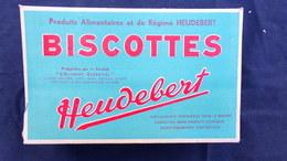 92- NANTERRE- BELLE BOITE PUBLICITAIRE CARTON BISCOTTES HEUDEBERT- L' ALIMENT ESSENTIEL REGIME - Autres