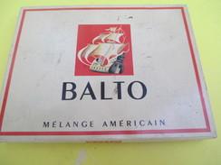 Boite Métallique Ancienne/Cigarettes/BALTO/ Mélange Américain/Régie Française/Vers 1950              BFPP196 - Boxes