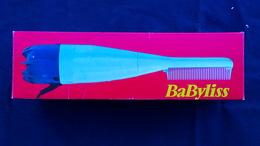BELLE BOITE CARTON PUBLICITAIRE BABYLISS-LE PEIGNE SOUFFLANT- REF. 700/603- COIFFURE COIFFEUR - Accessories