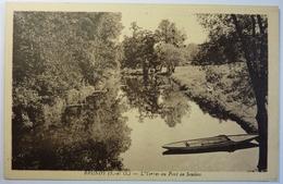 L'YERRES AU PONT DE SOULINS - BRUNOY - Brunoy
