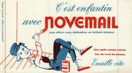 Buvard  -        Peinture NOVEMAIL - Buvards, Protège-cahiers Illustrés