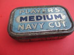 Boite Métallique Ancienne/Tabac De Pipe/PLAYERS Médium/Navy Cut/Vers 1930 - 1950              BFPP167 - Boxes
