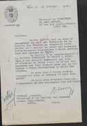 LETTRE COMMERCIALE  DE 1934 SOCIETE HIPPIQUE DE LA LOIRE FEURS : - Equitation