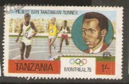 Tanzania 1976  SG 183 Filbert Bayi  Fine Used - Tanzania (1964-...)