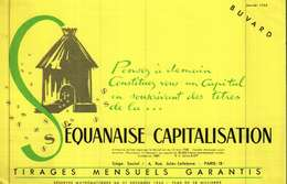Buvard  -       LA SEQUANAISE CAPITALISATION - Blotters