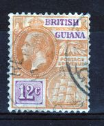 British Guiana George V 12c Definitive Stamp. - British Guiana (...-1966)