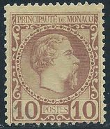 Monaco -1885 -  Charles III - N° 4  - Neuf (*)  - No Gum - - Monaco