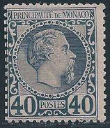 Monaco -1885 -  Charles III - N° 7  - Neuf (*)  - No Gum - - Monaco