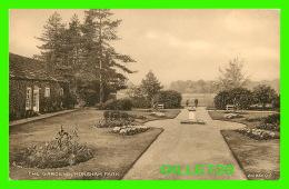HORSHAM, SUSSEX, UK - HORSHAM PARK, ANIMATED - THE GARDENS -  VALENTINE'S SEPIATYPE SERIES - - Angleterre