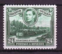 British Guiana George VI 24c Definitive Stamp From 1938. - British Guiana (...-1966)