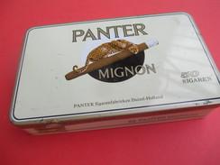 Boite Métallique Ancienne/50 Sigaren/ PANTER Mignon/Duizei / Holland /Vers 1960 - 1980              BFPP172 - Boîtes