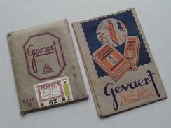 Oude VERPAKKINGEN / EMBALLAGE Gevaert Etc.... ( Zie Foto's Voor Detail ) 4 Stuks / Pcs. ! - Matériel & Accessoires