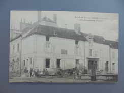 Mirebeau Sur Bèze Café Restaurant Fenon  Attelage  D - Mirebeau