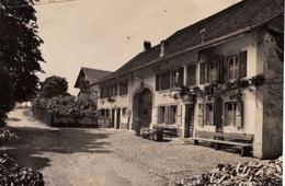 Deux (2) Cartes : Bercher - La Pension Thomas. Signée Thomas-Rieben. Ecrites - VD Vaud