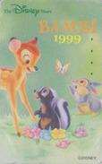 Télécarte Japon  / 110-204637 - DISNEY STORE - BAMBI Lapin Papillon-  Rabbit Butterfly Japan Cinema Movie Phonecard - Disney