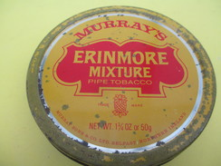 Boite Métallique Ancienne/Tabac De Pipe/MURRAY'S/Erinmore Mixture/Murray Son's/BELFAST/IRELAND/Vers 1960-1980    BFPP194 - Boîtes