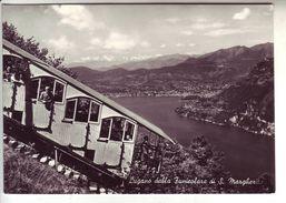 Italia Italy Lago Di Lugano Porlezza Funicolare S. Margherita FG VG C22 - Como