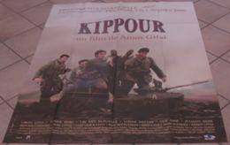 AFFICHE CINEMA ORIGINALE FILM KIPPOUR Amos GITAÏ Liron LEVO GUERRE KIPPOUR TBE CANNES 2000 JUDAICA HISTOIRE JUIVE JUIF - Posters