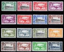Sierra Leone 1938-1944 MH Set SG 188/200 £140 - Seychellen (...-1976)