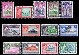 British Solomon Islands 1939-1951 MH Set SG 60/72 Cat £85 - British Solomon Islands (...-1978)