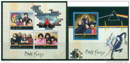 2 SHEETS PINK FLOYD SINGERS MUSIC - Chanteurs