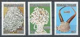 Togo YT N°1297/1299 Les Cauris Neuf ** - Togo (1960-...)