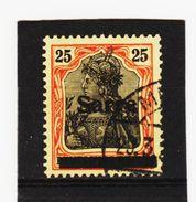 HIT241 DEUTSCHLAND SAARGEBIET 1920  MICHL  9 Used / Gestempelz SIEHE ABBILDUNG - Gebraucht