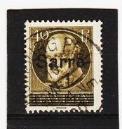 HIT244 DEUTSCHLAND SAARGEBIET 1920  MICHL  24  Used / Gestempelt SIEHE ABBILDUNG - 1920-35 Saargebiet – Abstimmungsgebiet