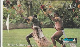 Fiji - Fijian Warriors Performing Spear Dance - 07FJD - Fiji