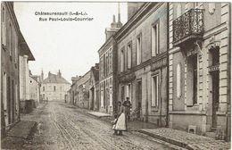 CPA - 37 - CHATEAURENAULT - Rue Paul-Louis Courrier - - France