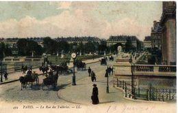 PARIS - LA RUE  DES TUILERIES - Arrondissement: 01
