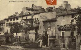 ST ROME DU CERNON --Place De La Fontaine - France