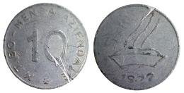 01408 GETTONE TOKEN JETON FICHA MENSA AZIENDALE MANIFATTURA TABACCHI BOLOGNA 1972 - Monetary/Of Necessity
