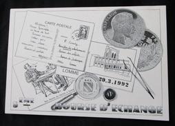- 59 - LOMME - BOURSE D ECHANGE COLLECTIONNEURS DU 29 MARS 1992 - Bourses & Salons De Collections
