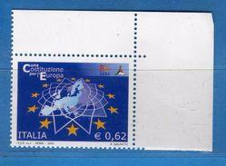 Italia ** - Anno 2004 - Costituzione EUROPEA . Unif. 2827 .     Vedi Descrizione. - 2001-10:  Nuovi