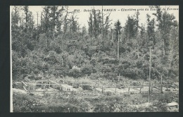BATAILLE DE VERDUN CIMETIERE PRES DU TUNNEL DE TAYANNE   - Obf1734 - Guerre 1914-18