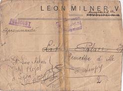 POLAND - COVER REGISTERED 1924 - LEON MILNER V WARSAWA - NOWOLIPKI NOWOKVODZKA -  BACK 24 STAMPS 100 000MK INFLA./TBS - Cartas