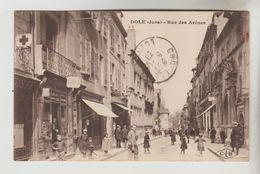 CPSM DOLE (Jura) - Rue Des Arènes - Dole