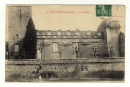 Cpa N° 4 VILLEVIEILLE Le Château - France
