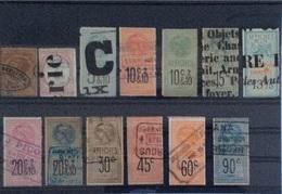 Timbres Fiscaux Pour Affiches - Revenue Stamps