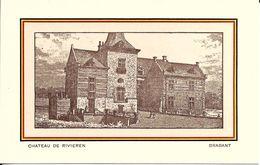 "BRUXELLES (1083) : Le Château ""De Rivieren"" à Ganshoren. CPA. - Ganshoren"