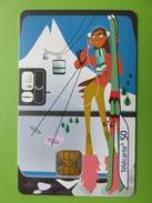 169 - Télécarte 2001- Les Cabines De Téléphérique - Mountains