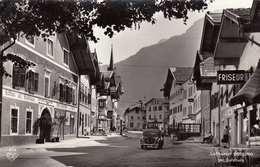 GOLLING Bei Salzburg, Strassenansicht, Alte Autos, Friseur, Fotokarte Gel.1960 - Golling
