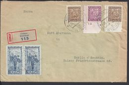 TCHECOSLOVAQUIE - 23-1-1935 - Enveloppe Recommandée De Zwickau In Bohmen Gendarmerie, Pour Berlin-Neukoln - B/TB - - Covers & Documents