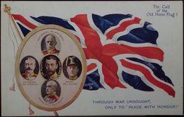 THROUGH WAR UNSOUGHT, ONLY TO PEACE WITH HONOUR - Viaggiata Nel 1916 Formato Piccolo - Guerra 1914-18
